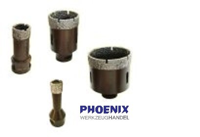 PHOENIX Diamant Bohrkronen für Winkelschleifer