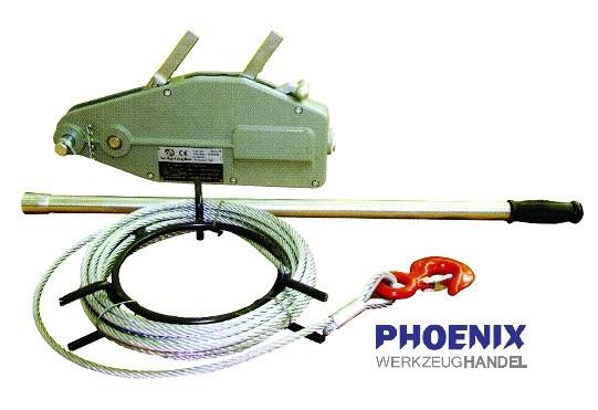 Do NL Mehrzweckseilzug 1600 mit Seil und Hebelrohr