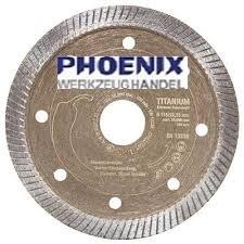 PHOENIX Titanium Diamantscheibe für Fliesenleger PW-TIT 125 mm